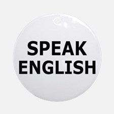 English Illegal Immigration T-shirts Ornament (Rou