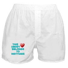 This Heart: Matthias (E) Boxer Shorts