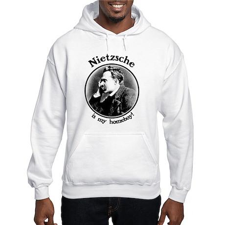 Nietzsche is my homeboy! Hooded Sweatshirt