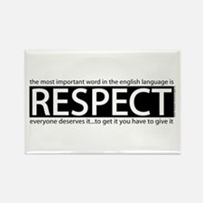 Respect Rectangle Magnet (100 pack)