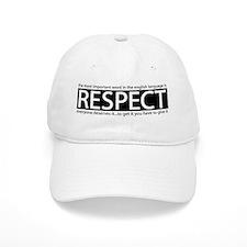 Respect Baseball Cap