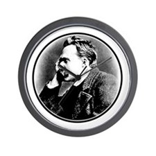 Nietzsche is my homeboy! Wall Clock