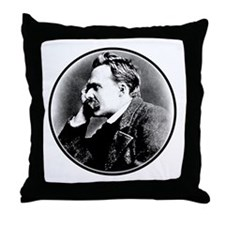 Nietzsche is my homeboy! Throw Pillow