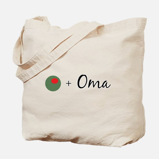 Olive Oma Tote Bag