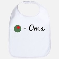 Olive Oma Bib