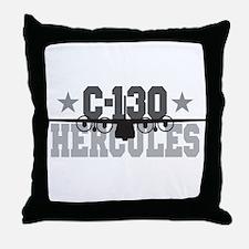 C-130 Hercules Throw Pillow