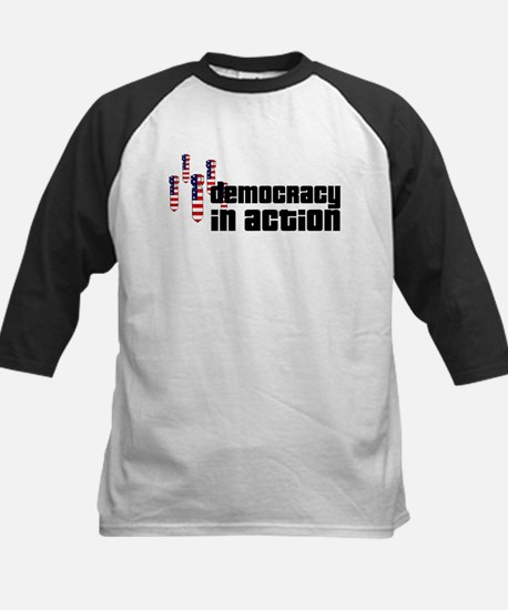 Democracy in Action Kids Baseball Jersey
