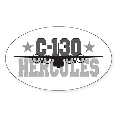 C-130 Hercules Oval Sticker