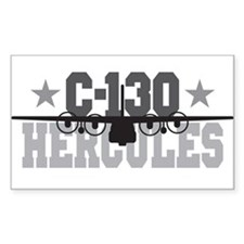 C-130 Hercules Rectangle Decal