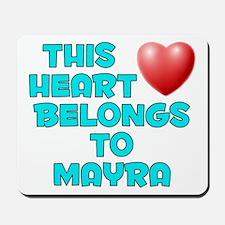 This Heart: Mayra (E) Mousepad