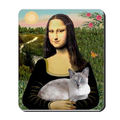 Mona's Siamese cat Mousepad