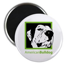 "Cute Old english bulldog 2.25"" Magnet (10 pack)"