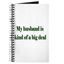 My Husband Is A Big Deal Journal