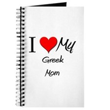 I Love My Greek Mom Journal