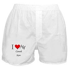 I Love My Greek Mom Boxer Shorts