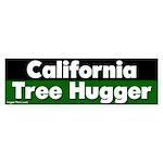 California Tree Hugger Bumper Sticker
