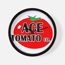 Ace Tomato Co Wall Clock