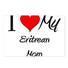I Love My Eritrean Mom Postcards (Package of 8)