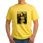 Mona's Keeshond (E) Yellow T-Shirt