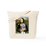 Mona's Keeshond (E) Tote Bag