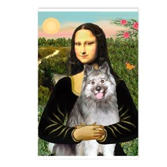 Mona's Keeshond (E) Postcards (Package of 8)