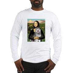 Mona's Keeshond (E) Long Sleeve T-Shirt