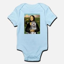 Mona's Keeshond (E) Infant Bodysuit