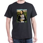 Mona's Keeshond (E) Dark T-Shirt