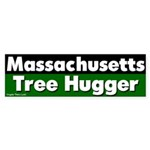 Massachusetts Tree Hugger Sticker