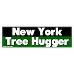 New York Tree Hugger Sticker