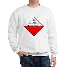 Spontaneously Combustible Sweatshirt