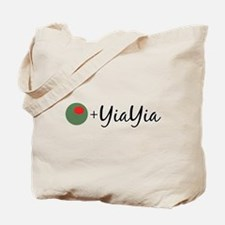 Olive YiaYia Tote Bag