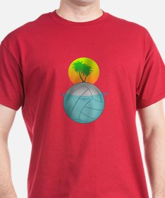 Volleyball Paradise T-Shirt