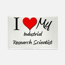 I Heart My Industrial Research Scientist Rectangle
