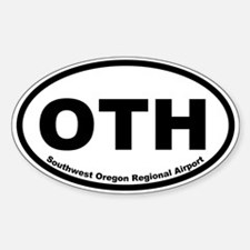 Southwest Oregon Regional Airport Oval Decal