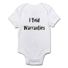 I Void Warranties Onesie