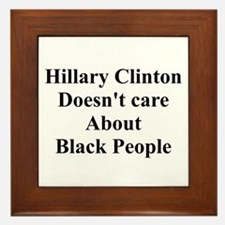 Hillary Clinton Doesn't Care About Black People Fr