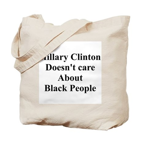 Hillary Clinton Doesn't Care About Black People To