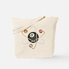 Billiard Atom Tote Bag