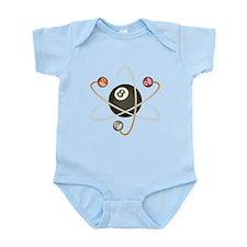 Billiard Atom Infant Bodysuit