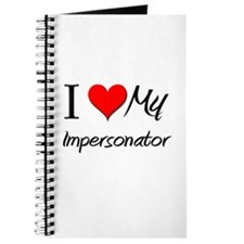 I Heart My Impersonator Journal
