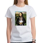 Mona Lisa's Sheltie (S) Women's T-Shirt