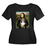 Mona Lisa's Sheltie (S) Women's Plus Size Scoop Ne