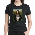 Mona Lisa's Sheltie (S) Women's Dark T-Shirt