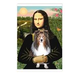 Mona Lisa's Sheltie (S) Postcards (Package of 8)
