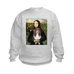 Mona Lisa's Sheltie (S) Kids Sweatshirt