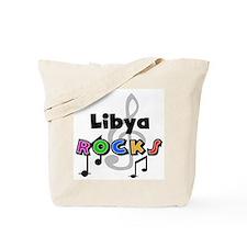 Libya Rocks Tote Bag