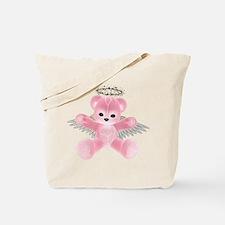 PINK ANGEL BEAR Tote Bag