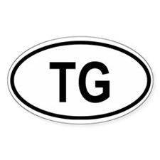 Togo Oval Decal