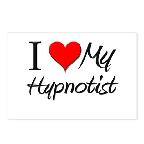 I Heart My Hypnotist Postcards (Package of 8)